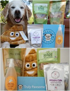Truly Pawsome Box - Subscription Dog Box best handpicked fun toys, tasty treats and useful accessories to keep your pup happy and healthy.