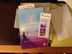 """I am thrilled to learn that my #book """"Dreams of the #Reiki #Shaman,"""" the sequel to """"Reiki #Shamanism,"""" is now published in #French and sold at TreDaniel, 19, nue Saint Severin 75005 Paris, #France. Thx @findhornpress   ! Various of my other books are published in English, French, German, Russian and Japanese"""