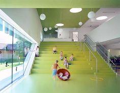 Kindergarten in Sighartstein, Austria - by kadawittfeldarchitektur
