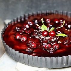 A chocolate tart with a deeply luscious Nutella and chocolate filling, a vegetarian filling, which can be made ahead ... I need to try this.
