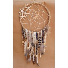 Beach Dream Catcher - Beach House Decor, Native American Dreamcatcher, Starfish