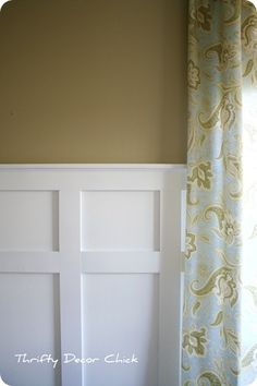 images about Wainscoting on Pinterest Pressed tin