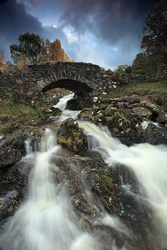 The packhorse bridge at Ashness must be one of the most photographed places in the Lake Distict...