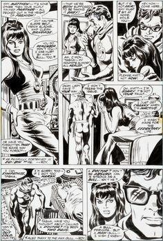 Daredevil #97 by Gene Colan Comic Art