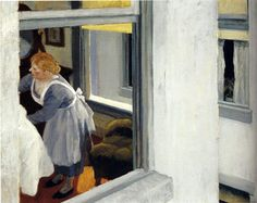 Apartment Houses by Edward Hopper