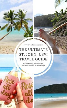 The smallest of the three U. Virgin Islands, and perhaps the most beautiful. Sit back and relax, you're on island time now! Honeymoon Places, Vacation Places, Vacation Trips, Vacation Spots, Places To Travel, Places To Go, Vacation Ideas, April Vacation, Cruise Vacation