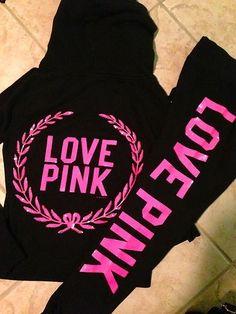 Love Pink Clothing On Pinterest Victoria Secret Pink Vs