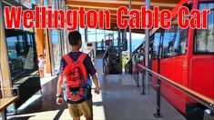 Wellington Cable car, Cable car museum It was the first day in the capital city Wellington, we went to one of the popular attractions Wellington cable car. Central City, Car Museum, Shopping Street, New Zealand Travel, Capital City, Cable, Cabo, Electrical Cable, Cords
