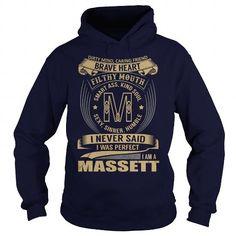 MASSETT Last Name, Surname Tshirt