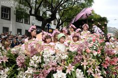 MADEIRA ISLANDS FLOWER FESTIVAL 2013 by Hugo Reis, via Behance