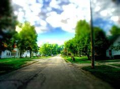 Side street.