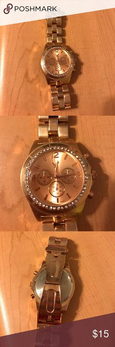 Rose gold watch from American Eagle Rose gold watch from American Eagle American Eagle Outfitters Accessories Watches