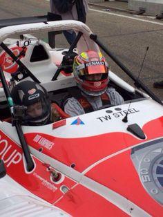 @Rob Frijns: driving around children with a Radical SR3 at Zandvoort
