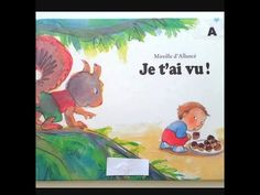 🐛Lecture : Je t'ai vu ! - YouTube Jeannot, Fable, French Resources, Lectures, Album, Animation, Baseball Cards, Books, Short Stories