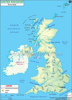 North America Rivers and Lakes Map   Education   Pinterest   Rivers ...