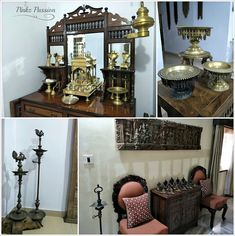 antique homes, collected homes, Home Tour, Indian home decor, Indian Inspired, Indian traditional décor, south Indian collection, South Indian Homes, Vintage collection, Indian brass décor, Indian brass