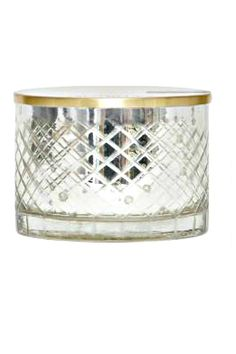 Notes are orchids jasmine and gardenia  BURN TIME: 55 Hours  SIZE: 15 oz / 3.25 x 4.5  Mercury Glass container with metal lid Aloha Orchid Candle by Aspen Bay/DPM Fragrance. Home & Gifts - Home Decor - Candles & Scents Seattle  Washington
