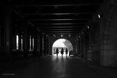 under the bridge. by fatima salcedo on