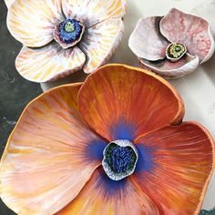 Intense #poppy #ceramics