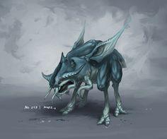 Monster No. 019 by Onehundred-Monsters on deviantART