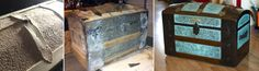 This website has some of the most epic & inspirational ideas for restoring old trunks! Rags to riches! Wouldn't you love to restore something to this beauty & quality?