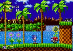 Sonic the Hedgehog (1991 video game) -Sega Mega Drive - came with the bundle but I was not a fan.