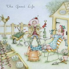 Cards » The Good Life » The Good Life - Berni Parker Designs
