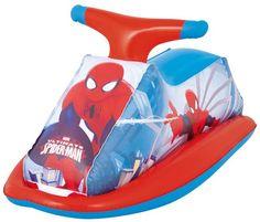 Opblaasbare Racer - Spiderman (Bestway)