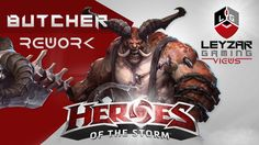 Heroes of the Storm (Gameplay) - Butcher Rework (HotS New Butcher Gameplay)