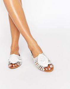 Image 1 ofRiver Island Herache Woven Sandal