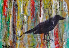 Raven Native I by Carrie Goller.
