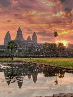 A is for Angkor Wat in Cambodia. Hope to finally see it this October, fingers crossed! #monogramsvacation