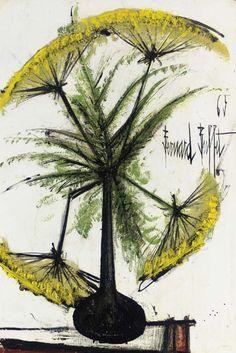 Ombelles jaunes, 1965, Bernard Buffet. French (1928 - 1999)