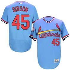 ddb18ec778a Buy Cardinals 45 Bob Gibson Light Blue Cooperstown Collection Flexbase  Jersey from Reliable Cardinals 45 Bob Gibson Light Blue Cooperstown  Collection ...