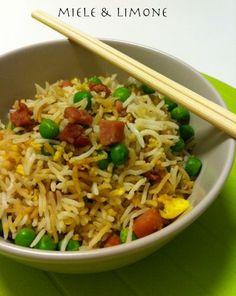 Riso alla cantonese - ricetta