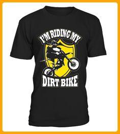 Im Riding My Dirt Bike Motorcycle Tshirt - Fan shirts (*Partner-Link)