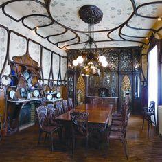 La Quinta Gameros - Art Nouveau - Comedor (Colección de Muebles Requena)