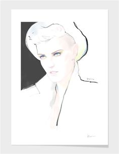 """Sam "" - Numbered Art Print by Floyd Grey on Curioos"
