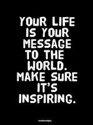 Inspire before you expire...