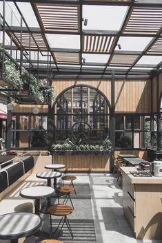 Cafe Interior, Divider, Room, Furniture, Home Decor, Bedroom, Decoration Home, Room Decor, Cafe Interiors