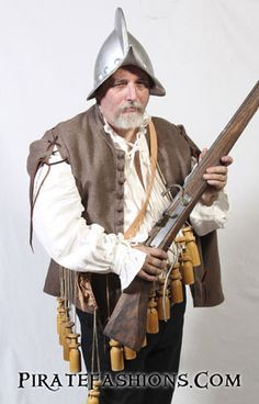 During the time of Sir Francisco Drake sea dogs would have been wearing doublets such as these. They be worn under a buff jerkin or breast armor, or as a vest or coat in chilly weather. Golden Age Of Piracy, Game Character Design, Character Concept, Pirate Fashion, Frock Coat, Landsknecht, Next Clothes, Doublet, Chilly Weather