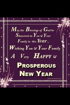 new year blessings