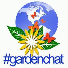 New Logo ... check out our site and get connect with fellow gardeners from around the world! #gardenchat