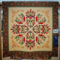 Great raffle quilt idea