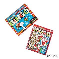 Get in the Christmas state of mind with this Peanuts® Christmas Bingo game. A fun activity for kids and adults, this bingo set includes thirty-two 6 . Christmas Eve Games, Christmas Bingo Game, Christmas Tree With Gifts, Holiday Fun, Holiday Ideas, Peanuts Christmas, Charlie Brown Christmas, Blue Christmas, Bingo Set