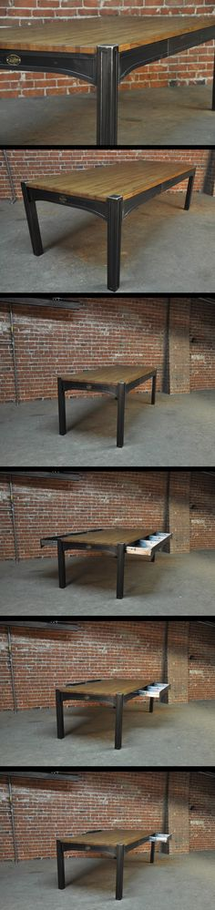42 Dining Table by Vintage Industrial in Phoenix, AZ.. wow dam nice table !