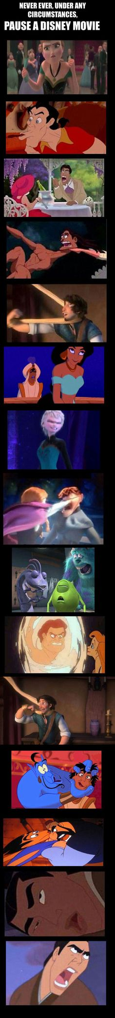 Pausing A Disney Movie At The Wrong Time
