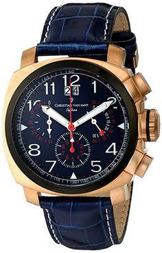 Christian Van Sant Reloj de cuarzo Cv3Au5 Python Azul 50  mm-PREFERIDO-1