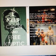 just leaked #freekriptic dvd @officialospw