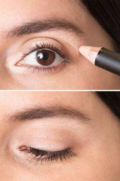 maquillage paupières simples et faciles